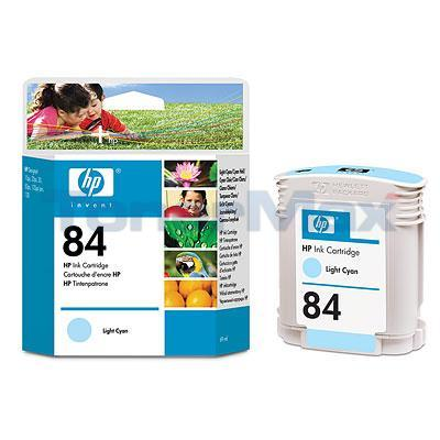 HP NO 84 INK CARTRIDGE LIGHT CYAN